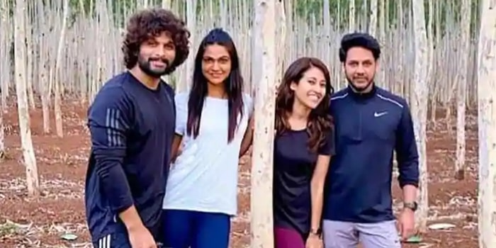 Allu Arjun's new look with curly hair goes viral