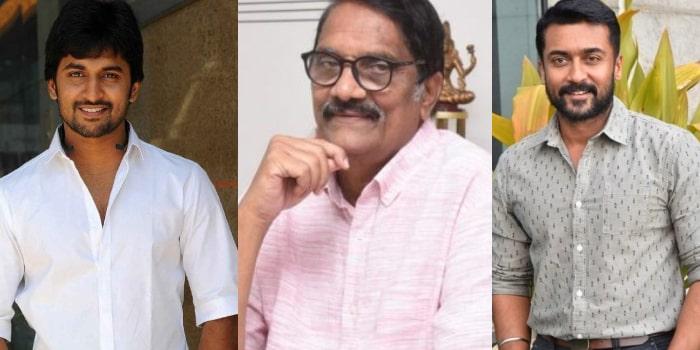Producer Ashwini Dutt Welcomes Suriya And Nani's Decision