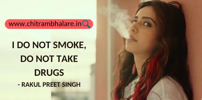I do not smoke, do not take drugs – Rakul Preet Singh