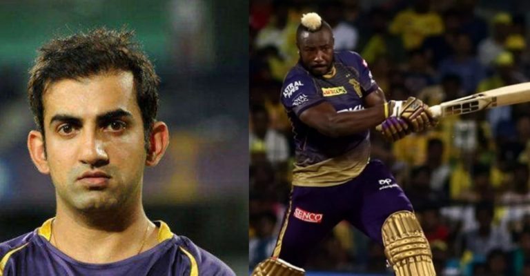 The Only Bowler Who Can Trouble Andre Russell : Gautam Gambhir