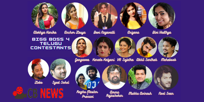 Bigg Boss 4 Telugu buzz on the small screen, who are the contestants ?