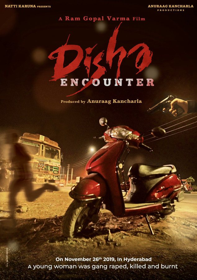 RGV Disha Encounter First look Poster out