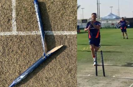 IPL 2020: Two-piece stump in Mumbai Indians practice session