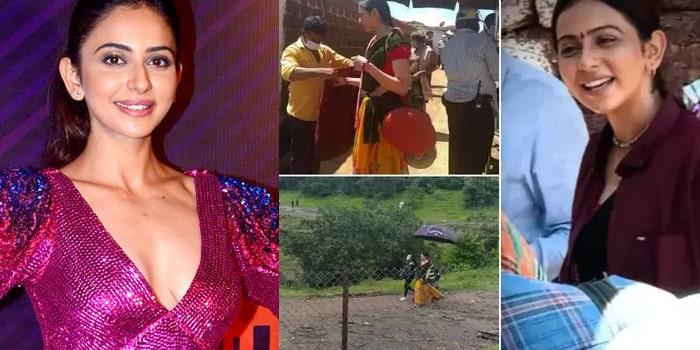 వీడియో: వికారాబాద్ షూటింగ్ నుంచి వెళ్లిపోయిన రకుల్
