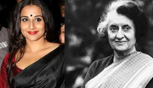 Vidya Balan in Indira Gandhi biopic !