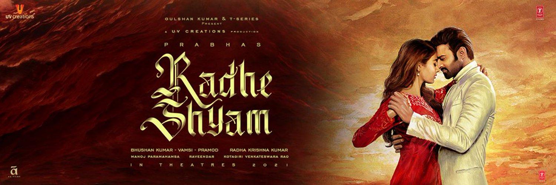 Prabhas Radhe Shyam Telugu Movie Latest news and updates