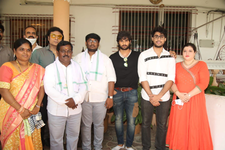 Sharan The Light Kumar A Member Of Krishna Vijaya Nirmala Family Debut Movie Launched