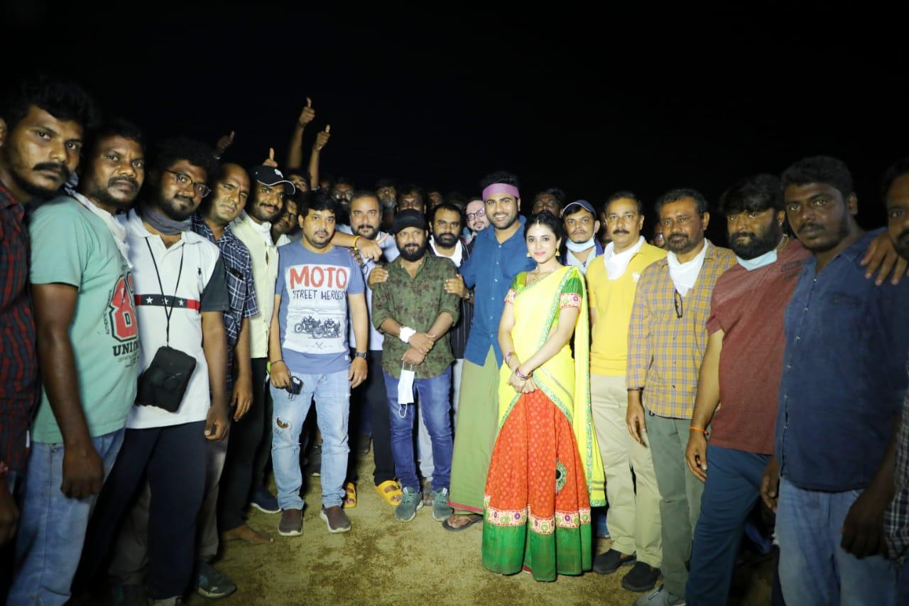 Sharwanand Priyanka Arul Mohan Sreekaram Tirupati Schedule Wrapped Up