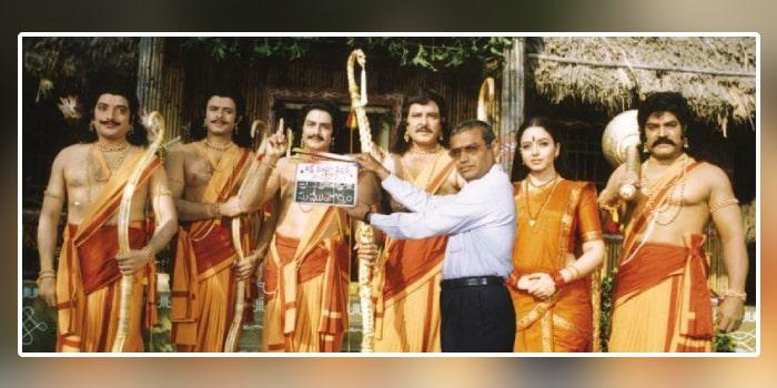 balakrishna, soundarya starrer shelved narthanasala to be released online on october 24th