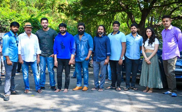 Anil Ravipudi to present Sree Vishnu Gaali Sampath Movie Launched