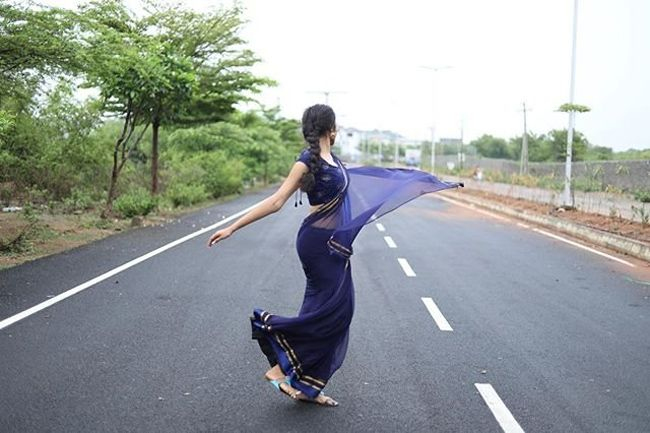 Bigg Boss Beauty Divi Vadthya Photoshoot