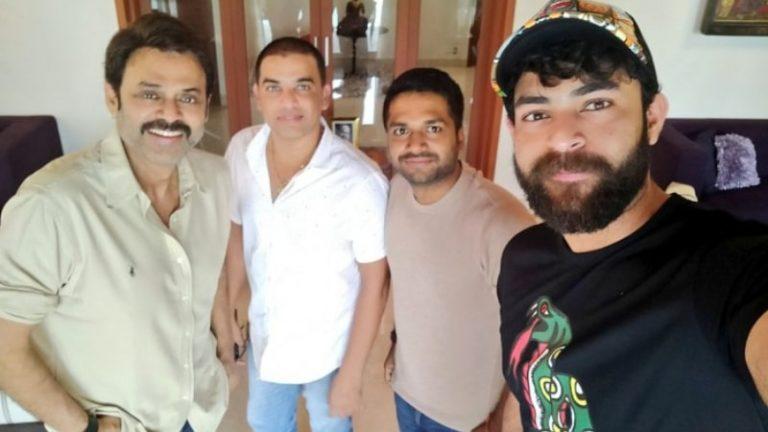 Date locked for Venkatesh and Varun Tej's F3 launch