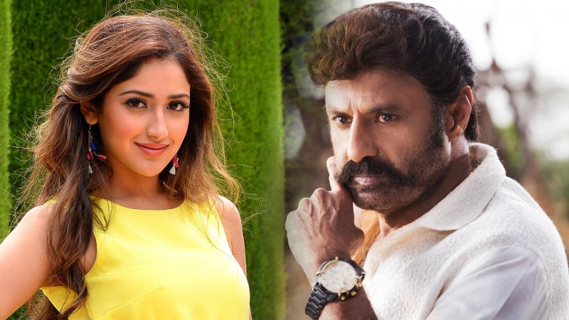 Hot Tamil Actress Sayyeshaa is confirmed for Balakrishna BB3 movie