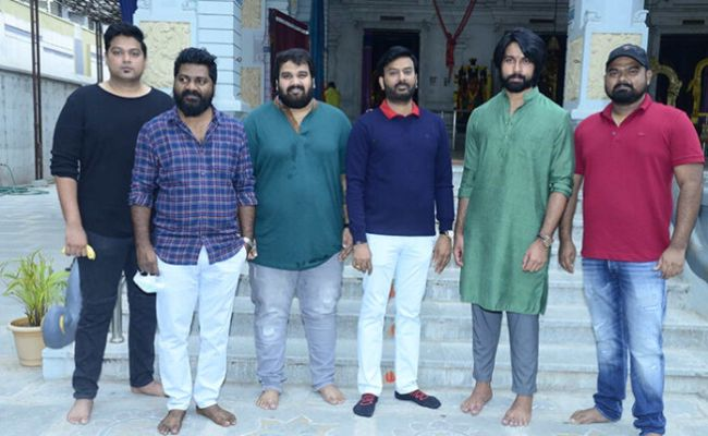 Kalyan Dev Launches His Next film With Aswathama Director