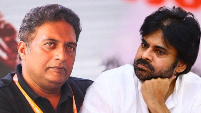 Prakash Raj sensational comments on Janasena Pawan Kalyan