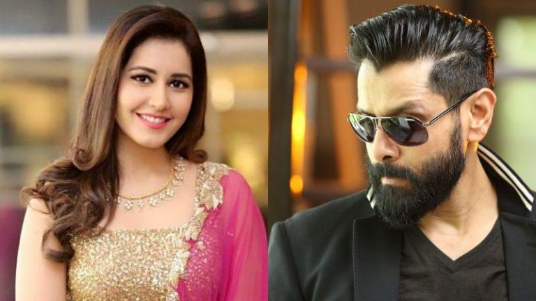 Raashi Khanna to star opposite Chiyaan Vikram