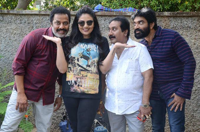 Sreemukhi Next Crazy Uncles telugu movie launch