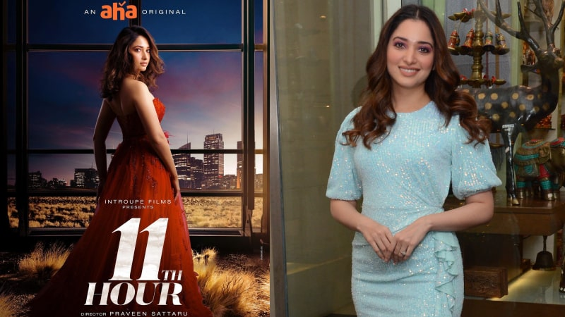 Tamannaah Bhatia Teases Announcement Of Web-show '11th Hour' In Quirky Way