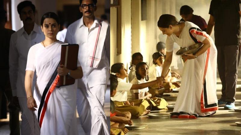 Actress Kangana Ranaut Shares Thalaivi New Stills In Twitter