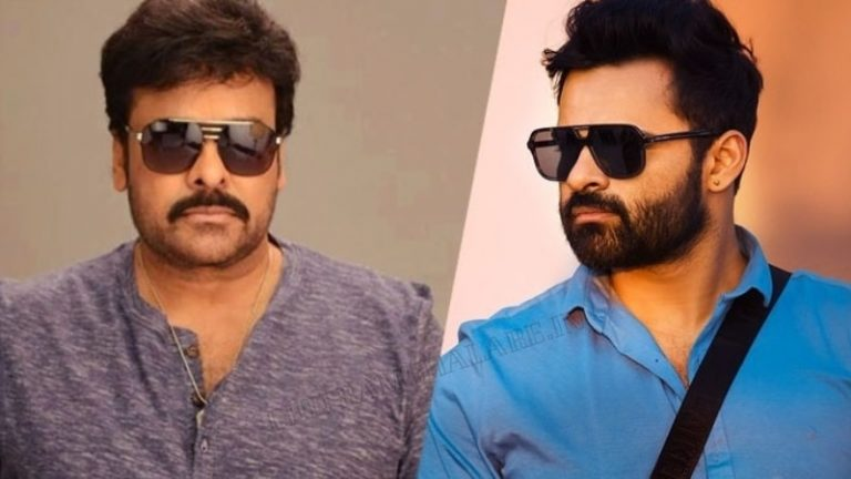 Chiranjeevi's special message ahead of Sai Tej SBSB's release