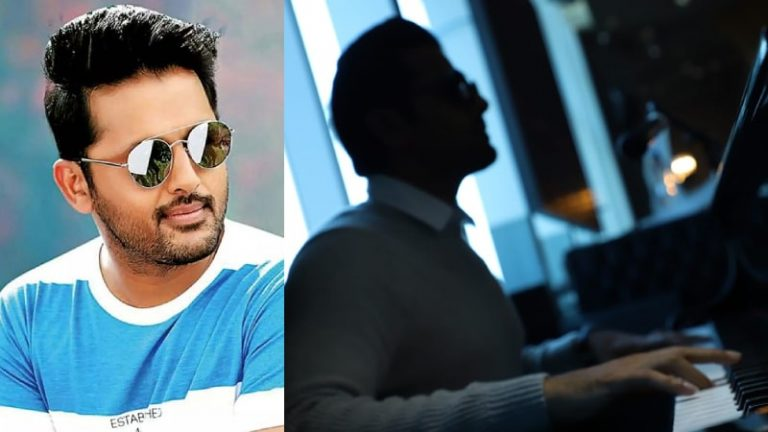 Nithiin begins shoot for the Telugu remake of Andhadun in Dubai with Nabha Natesh