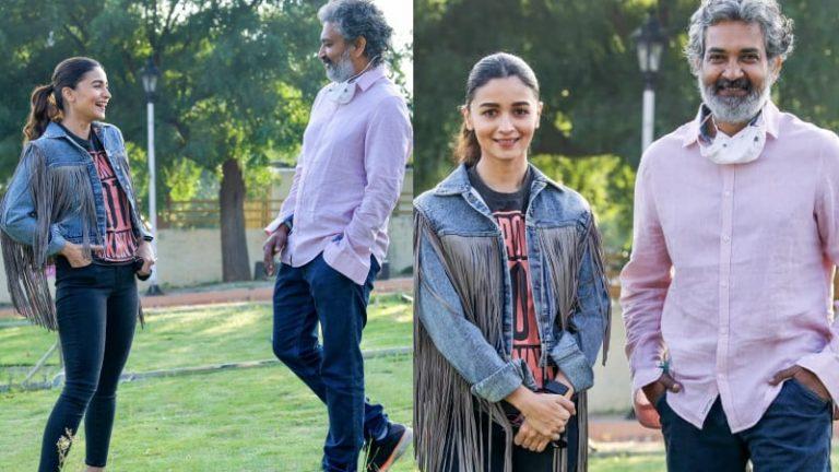 RRR: Alia Bhatt receives a warm welcome