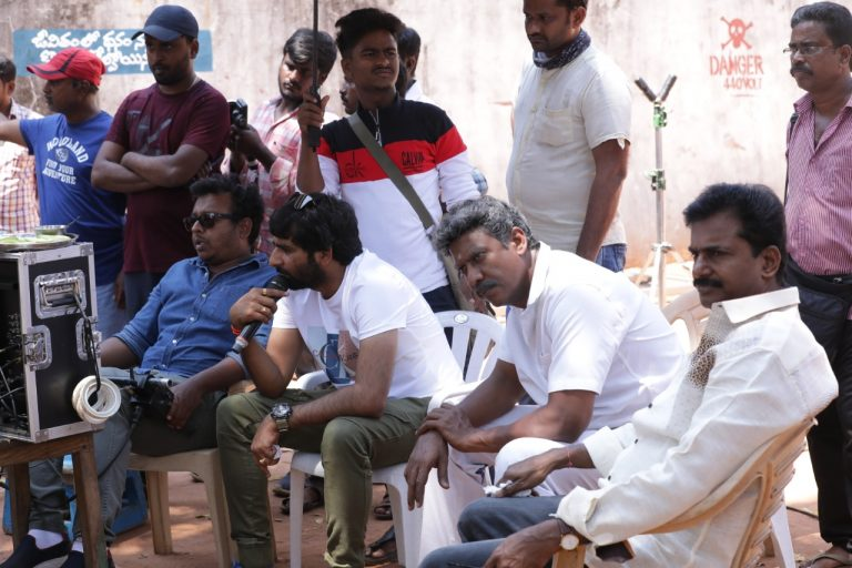 Ravi Teja Krack Movie Working Stills