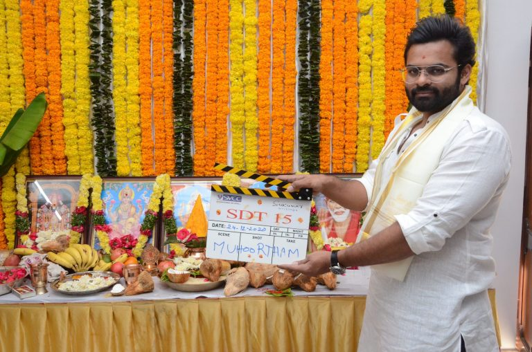 SDT 15: Sai Tej's new film with Sukumar Writings launched