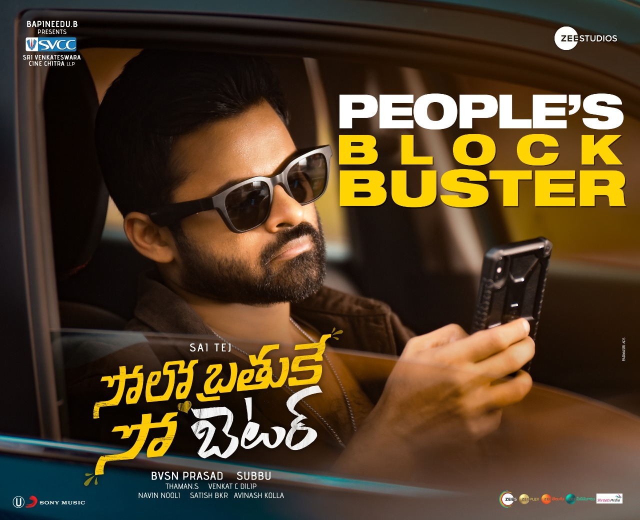 Solo Brathuke So Better 2 days AP/TS Box office collections