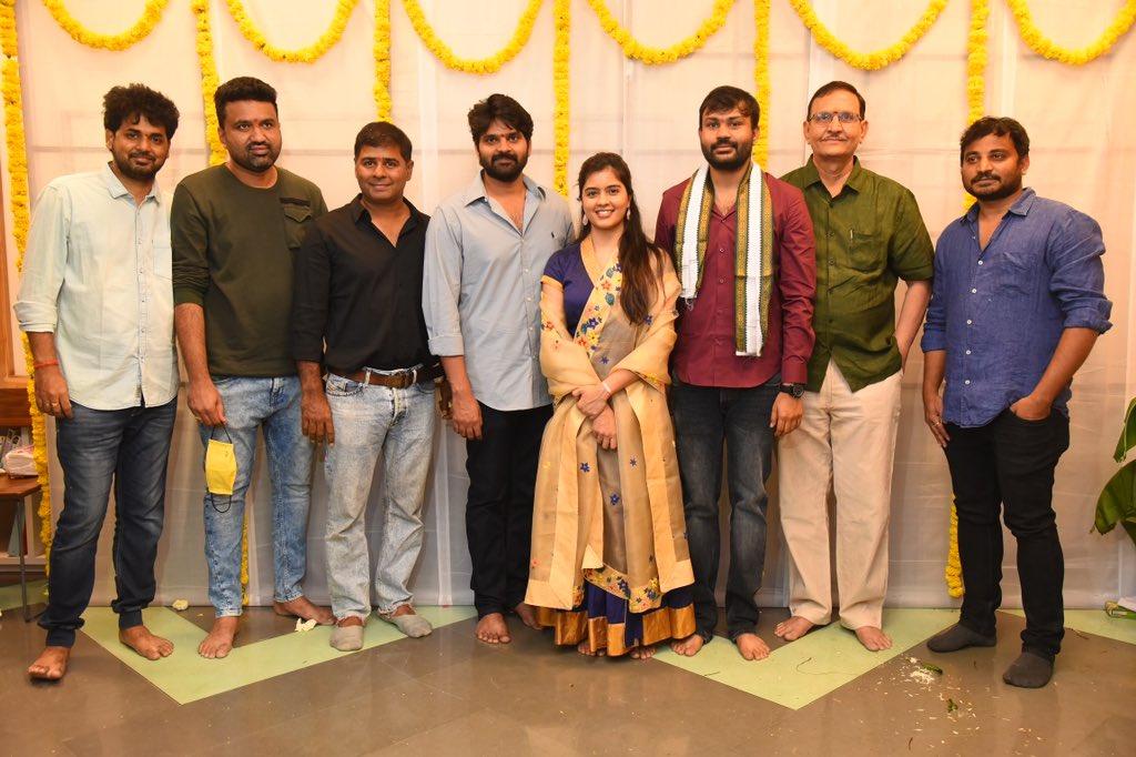 Sree Vishnu, Amritha Aiyer New Movie Launch.. details inside