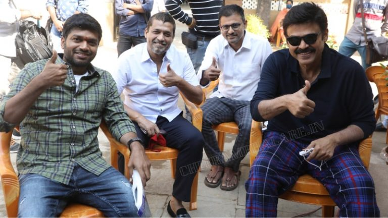 Victory Venkatesh joins the first day of F3 movie shooting