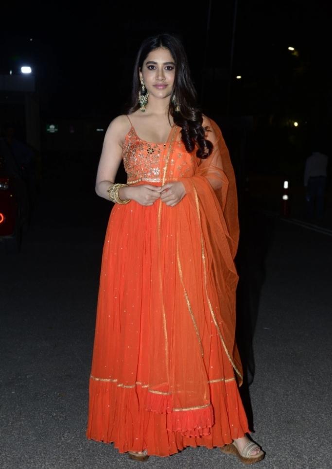 Nabha Natesh Alludu Adhurs Success Celebrations photos and images