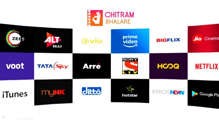 Popular OTT Platforms Netflix ,Amazon Prime, Aha Videos ...