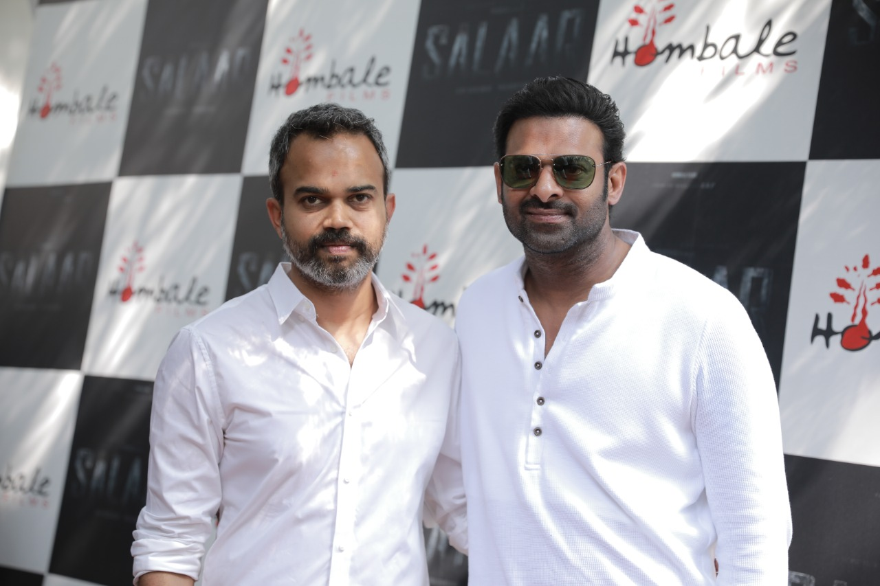 Prabhas Salaar Move Launch Photos