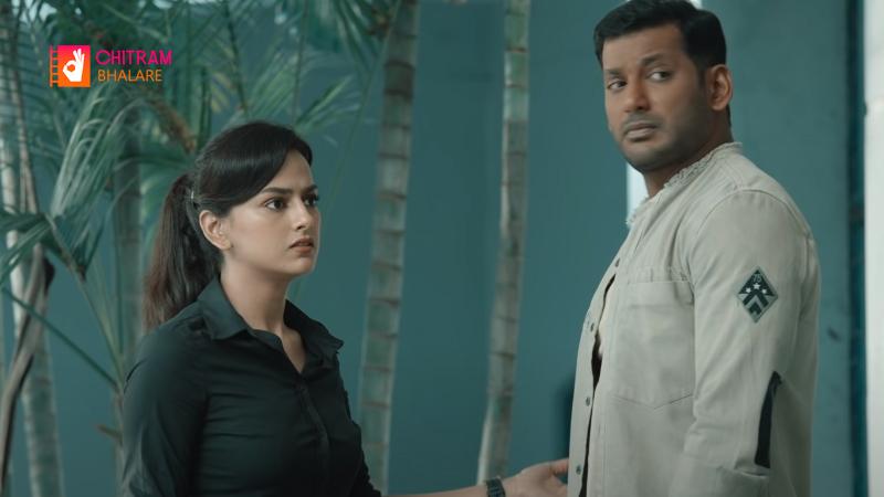 Presenting the Vishal Telugu Sneak Peek of CHAKRA Movie