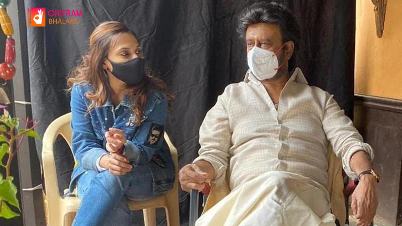 Rajinikanth and Nayanthara Annaatthe shooting at IKEA Hyderabad