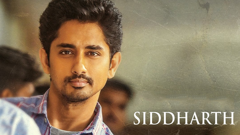 Siddharth's First Look Poster From Maha Samudram film