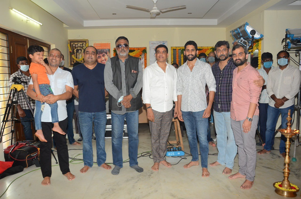 Naga Chaitanya and Raashi Khanna Thank You movie shoot pics and poster