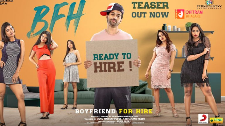 Official Teaser OF Boyfriend For Hire
