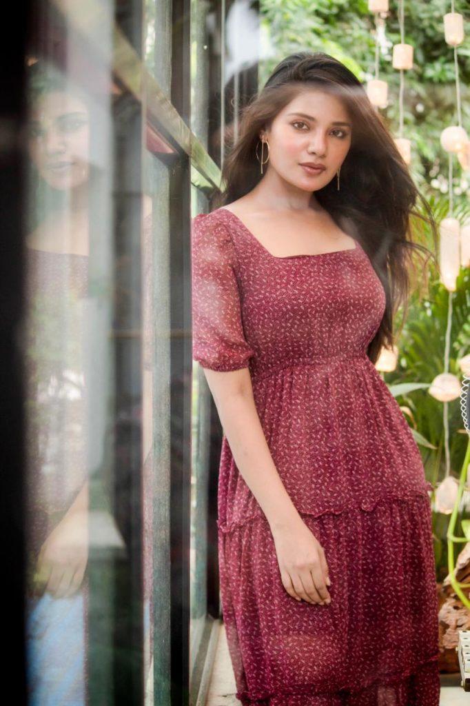 Tamil Actress Aathmika Recent Images