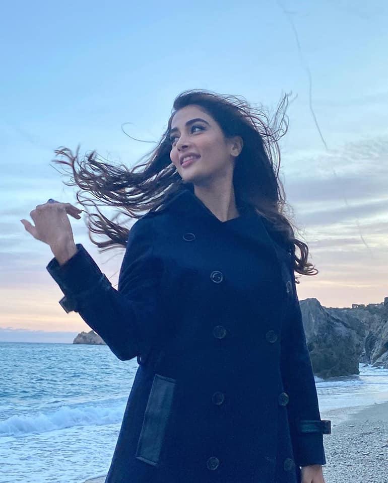 Bollywood Actress Pooja Hegde vacation photos