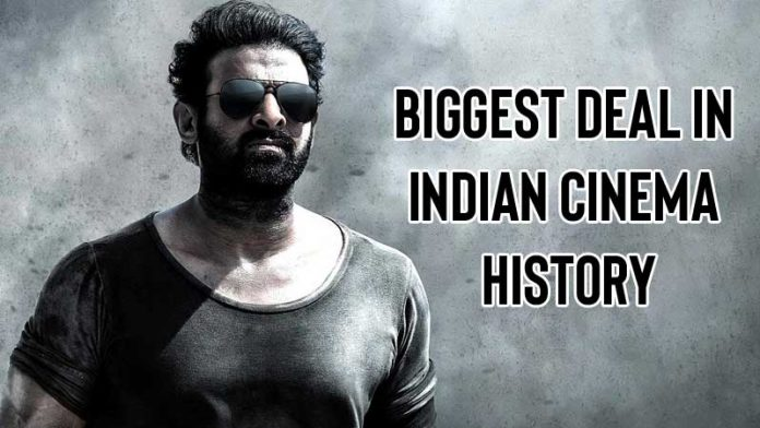 OTT platform has offered over Rs 150 crore in the case of Prabhas Salaar film rights