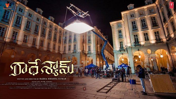 Prabhas Pooja Hegde Radhe Shyam resume shoot