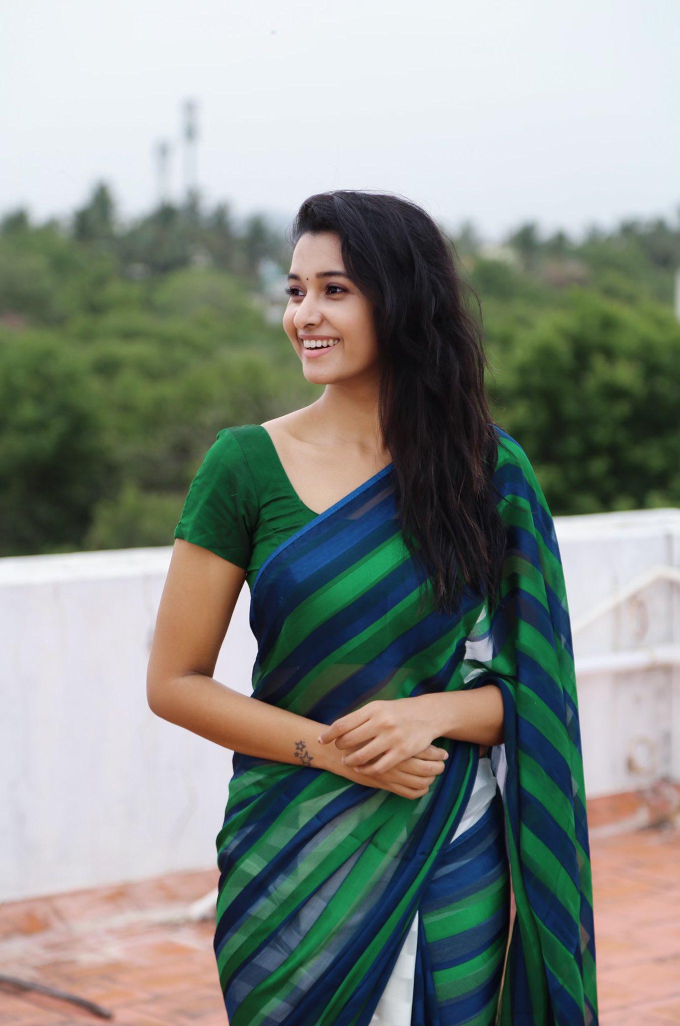 Priya Bhavani Shankar Hot Saree Stills