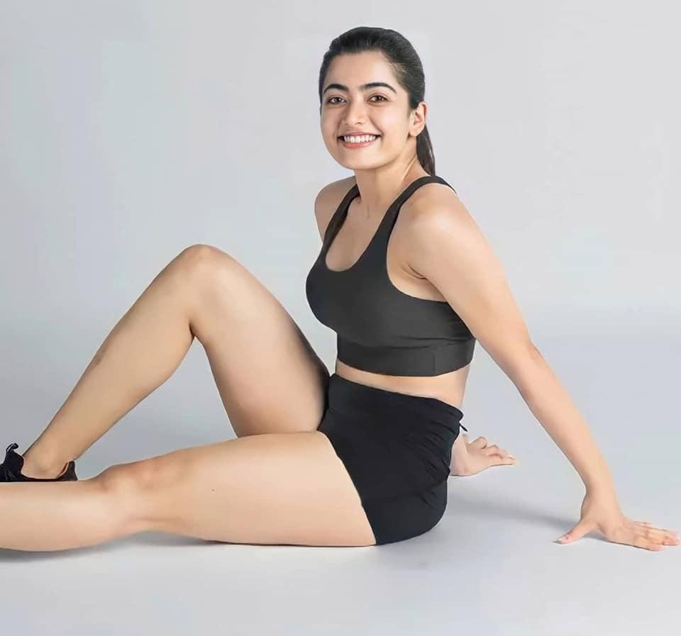 Rashmika Mandanna hot gym photoshoot