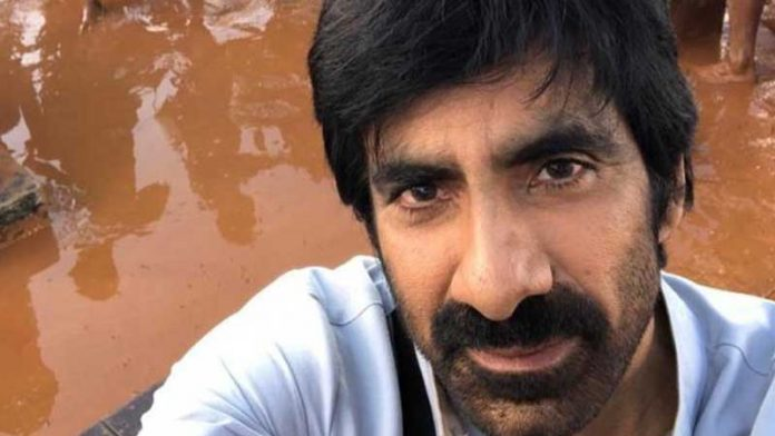 Ravi Teja shoots for an intense action sequence in Italy for 'Khiladi'