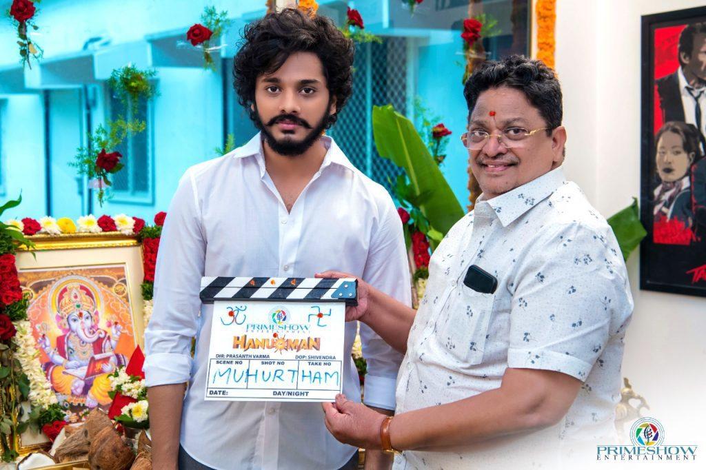 Teja Sajja and Prasanth Varma's Hanu-Man shoot launch photos
