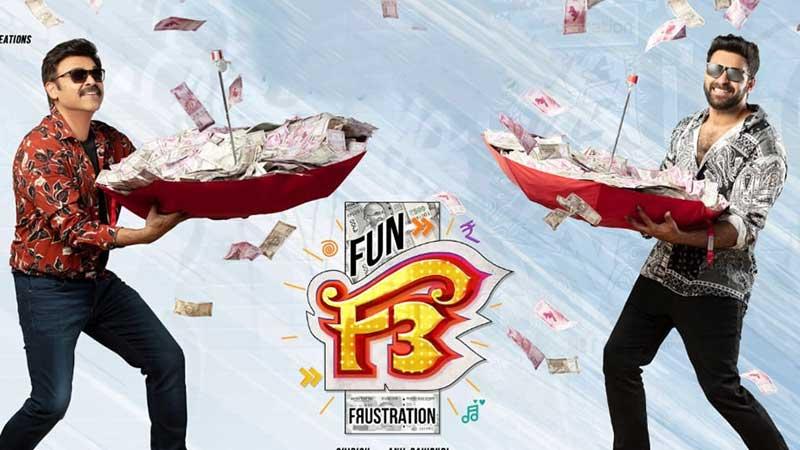 Venkatesh F3 Movie shooting details