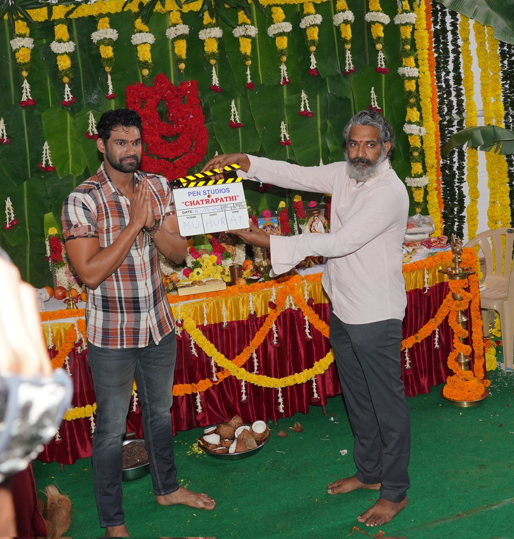 Bellamkonda Sreenivas's Chatrapathi Hindi remake Launch photos