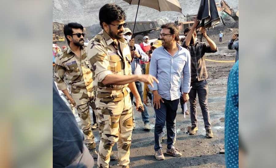 Chiranjeevi and Ram Charan, Pooja Hegde, kajal Aggarwal resume Acharya shooting